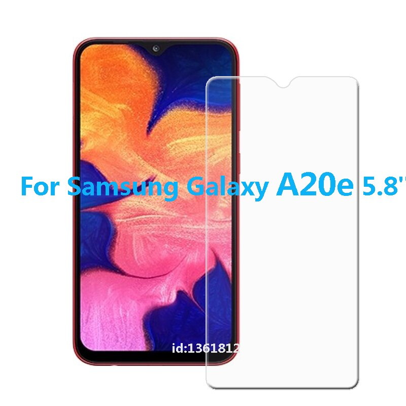 Glass For Samsung Galaxy A20e Tempered Glass Screen Protective Film For Samsung Galaxy A20 e Glass Screen Protector Smartphone