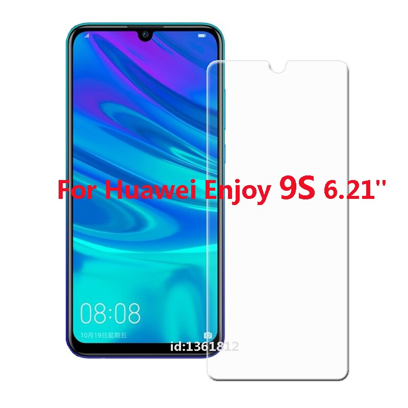 Glass For Huawei Enjoy 9S Tempered Glass Screen Protective Film For Huawei Enjoy 9S Glass Screen Protector Smartphone 6.21