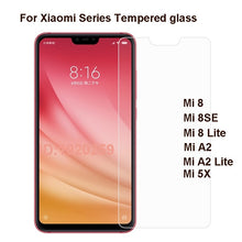 Load image into Gallery viewer, 2PCS Tempered Glass For Xiaomi Mi 8 Se A2 Lite 5X Screen Protector 2.5 9h Protective Film On Mi8 Mi8Se A2Lite A 2 Mi5X Mi8Lite