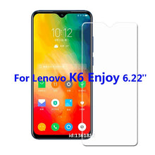 Load image into Gallery viewer, Glass For Lenovo K6 Enjoy Tempered Glass Screen Protective Film For Lenovo K 6 Enjoy Glass Screen Protector Smartphone Glass