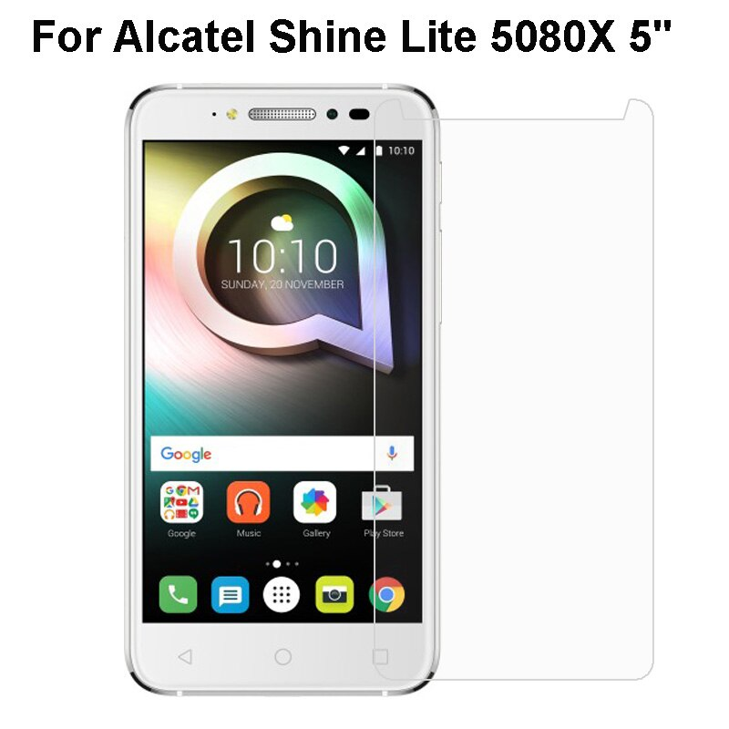 Tempered glass Alcatel Shine Lite 5080X Transparent Protective Film For Alcatel 5080X Glass Screen Protector Phone Film