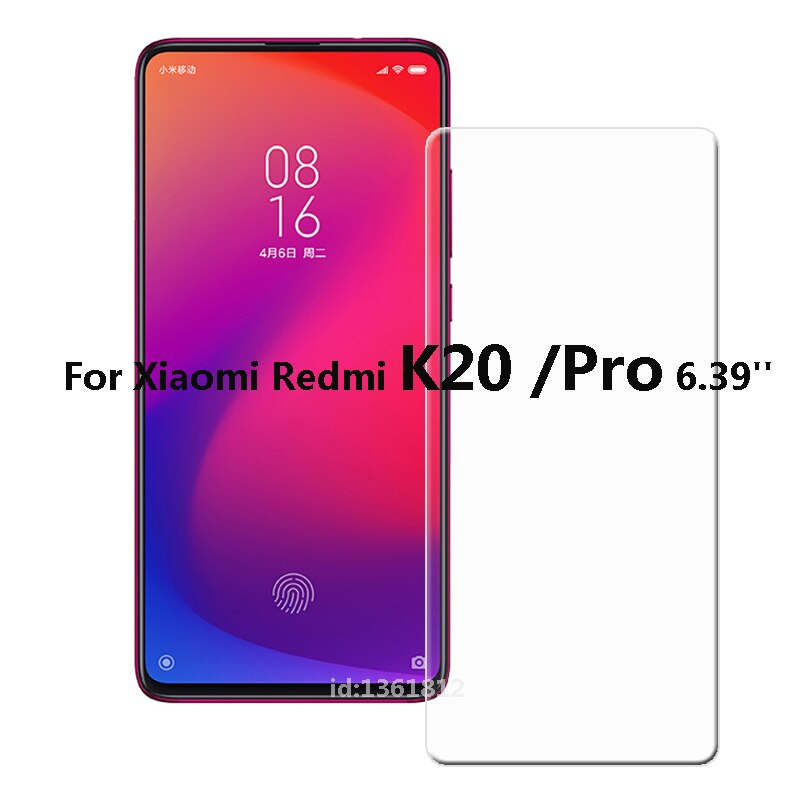 Xiaomi Redmi K20 Pro Tempered Glass High Quality Explosion-proof Screen Protector Film For Xiaomi Redmi K20 Phone Glass 6.39''