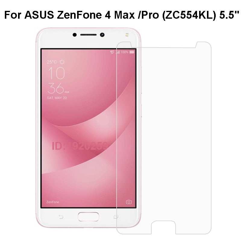 ASUS ZenFone 4 Max Pro Tempered Glass Protective Film For ZC554KL Glass Screen Protector Mobile Phone Film