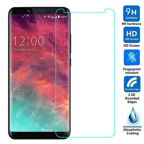 For Smartphone Doogee X53 Glass Screen Front Protection Film For Doogee X53 Glass Transparent Screen Protector Mobile Phone Film