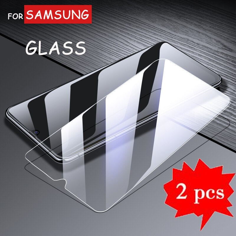 2Pcs Premium Tempered Glass for Samsung Galaxy A2 Core Screen Protector Glass for Galaxy A20 A20e A20s Phone Protection Film