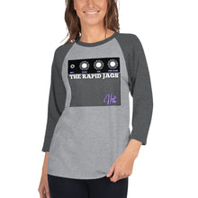 Load image into Gallery viewer, Extra Volume Amp 3/4 sleeve raglan shirt