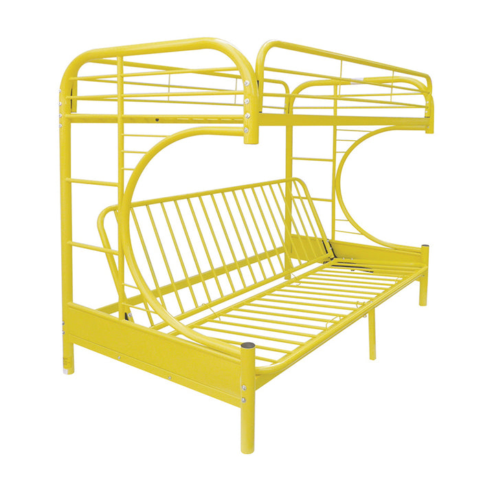 Eclipse Yellow Bunk Bed (Twin/Full/Futon) image