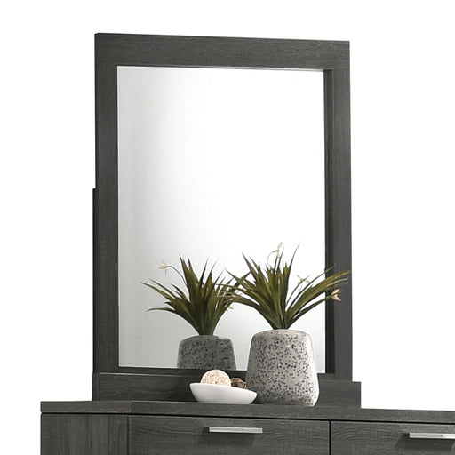 Lantha Gray Oak Mirror image