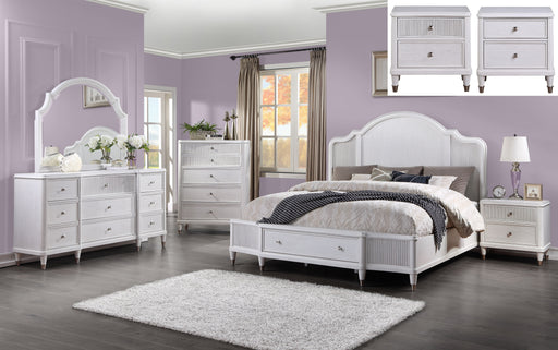 Celestia Off White Queen Bed (Storage) image