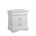 Louis Philippe White Nightstand image