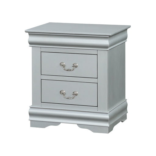 Louis Philippe Platinum Nightstand image