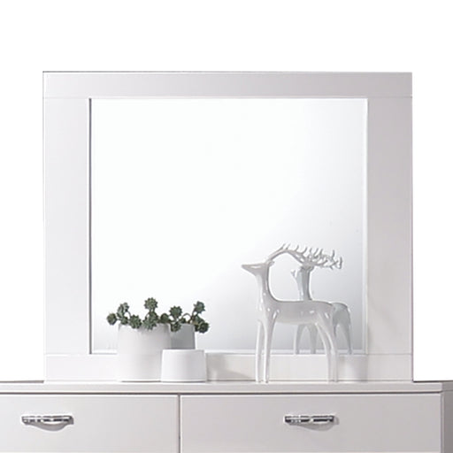 Naima II White High Gloss Mirror image