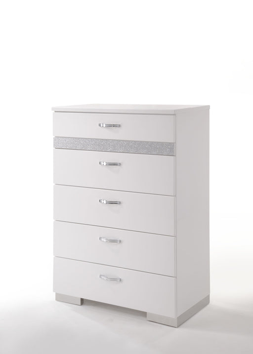 Naima II White High Gloss Chest image
