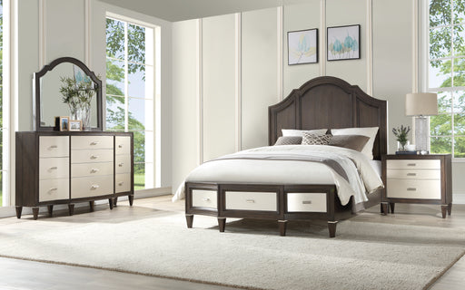 Peregrine Walnut Eastern King Bed image
