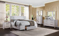Aromas White Oak Queen Bed (Storage) image