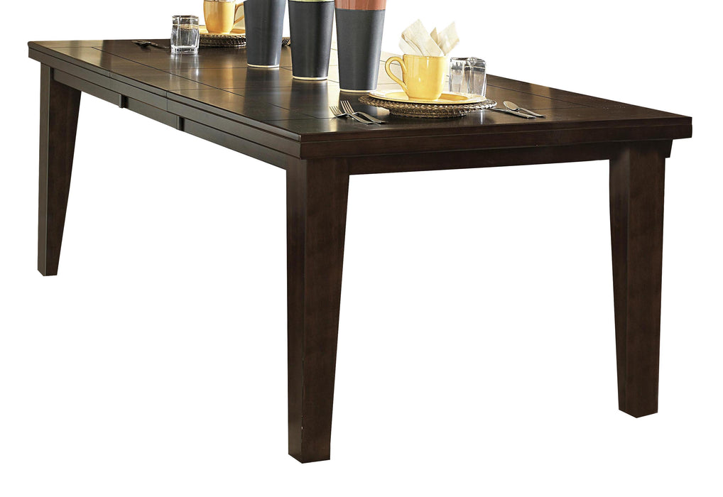 Homelegance Ameillia Rectangular Extension Dining Table in Dark Oak 586-82 image