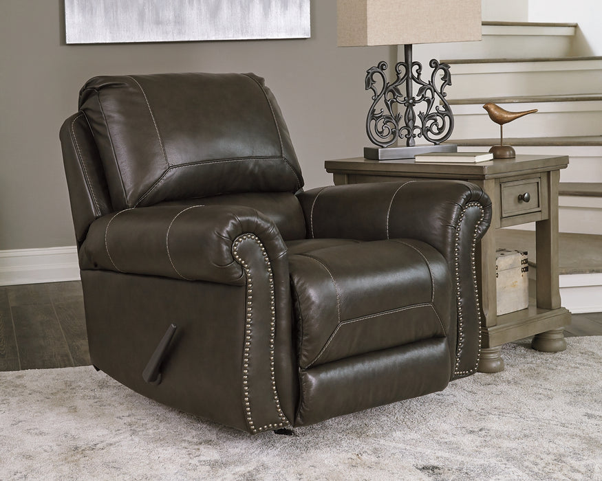 Lawthorn Signature Design by Ashley Recliner image