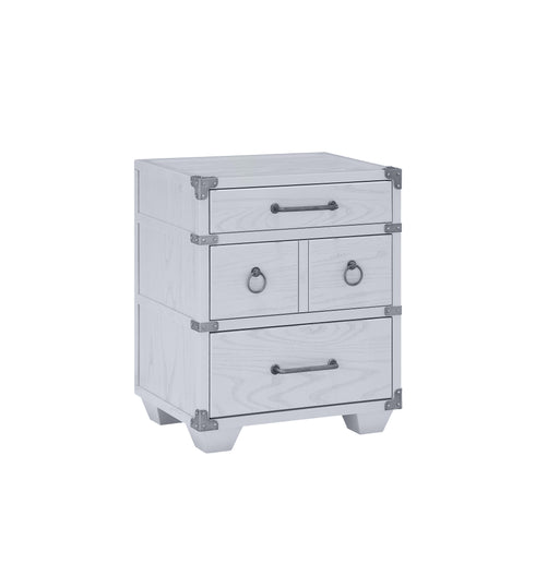 Orchest Gray Nightstand w/3 Drw image