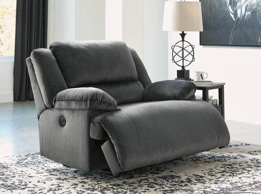 Clonmel Signature Design by Ashley Zero Wall Power Wide Recliner image