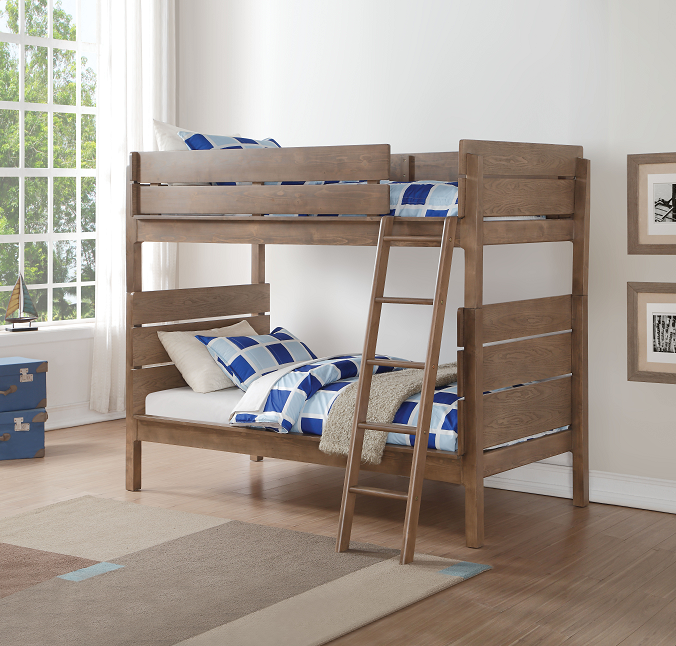 Ranta Antique Oak Bunk Bed (Twin/Twin) image