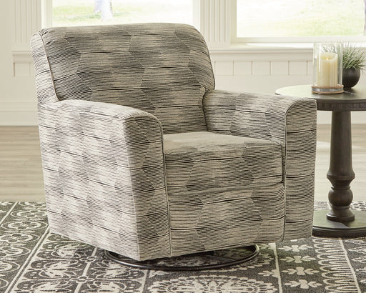 Callisburg Benchcraft Swivel Glider Accent Chair image