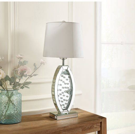 Nysa Mirrored & Faux Crystals Table Lamp image