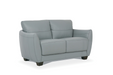 Valeria Watery Leather Loveseat image