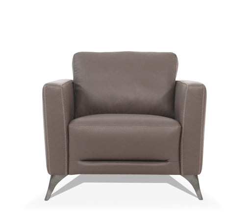 Malaga Taupe Leather Chair image