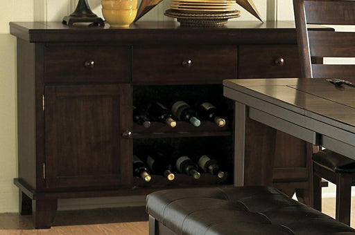 Homelegance Ameillia Server in Dark Oak 586-40 image