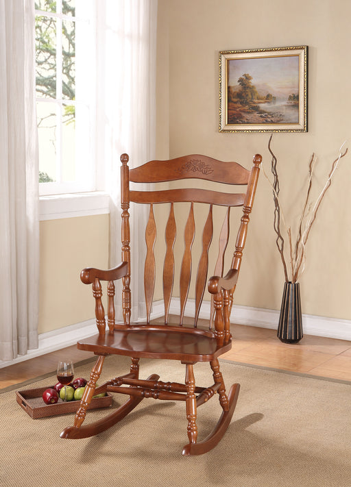 Kloris Dark Walnut Rocking Chair image