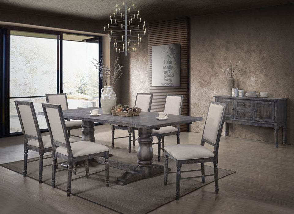 Leventis Weathered Gray Dining Table image