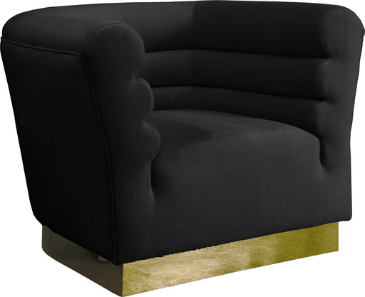 Bellini Black Velvet Chair image