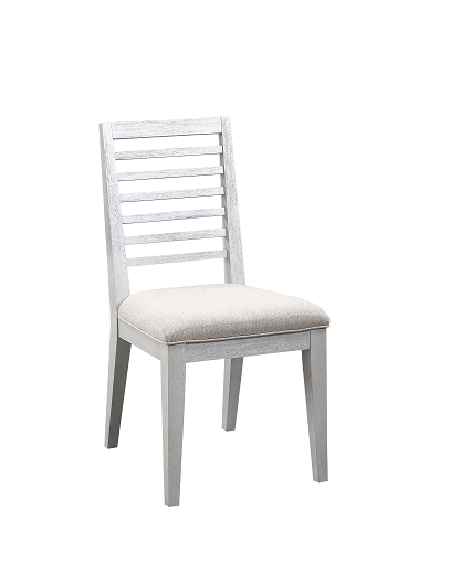 Aromas White Oak & Fabric Side Chair image