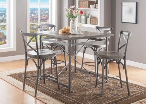 Kaelyn II Gray Oak & Sandy Gray Counter Height Table image
