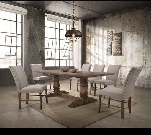 Leventis Weathered Oak Dining Table image