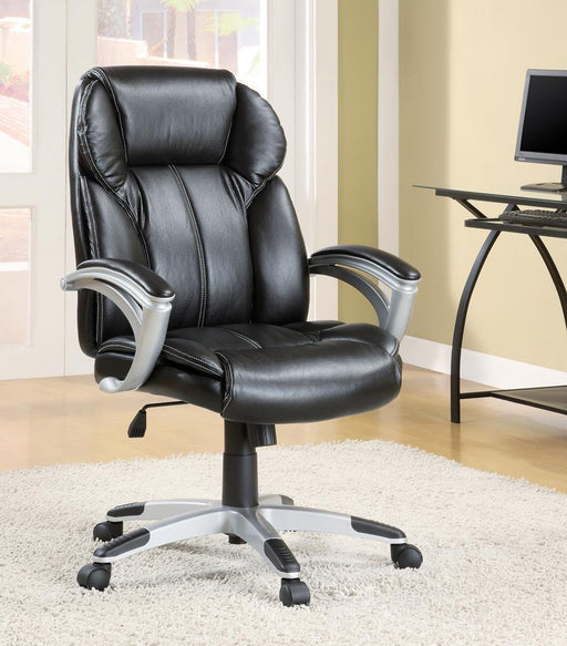 G800038 Transitional Black Office Chair image