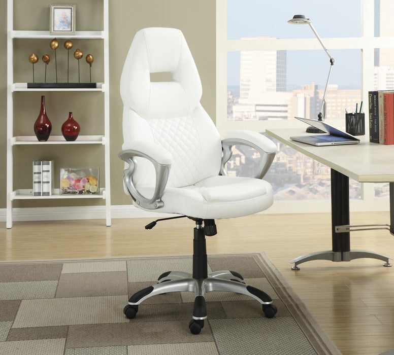 G800150 Contemporary White Office Chair image