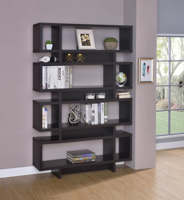 G800307 Contemporary Cappuccino Bookcase image