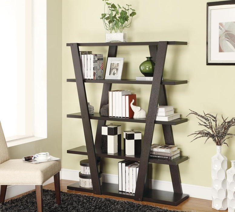 G800318 Contemporary Cappuccino Bookcase image