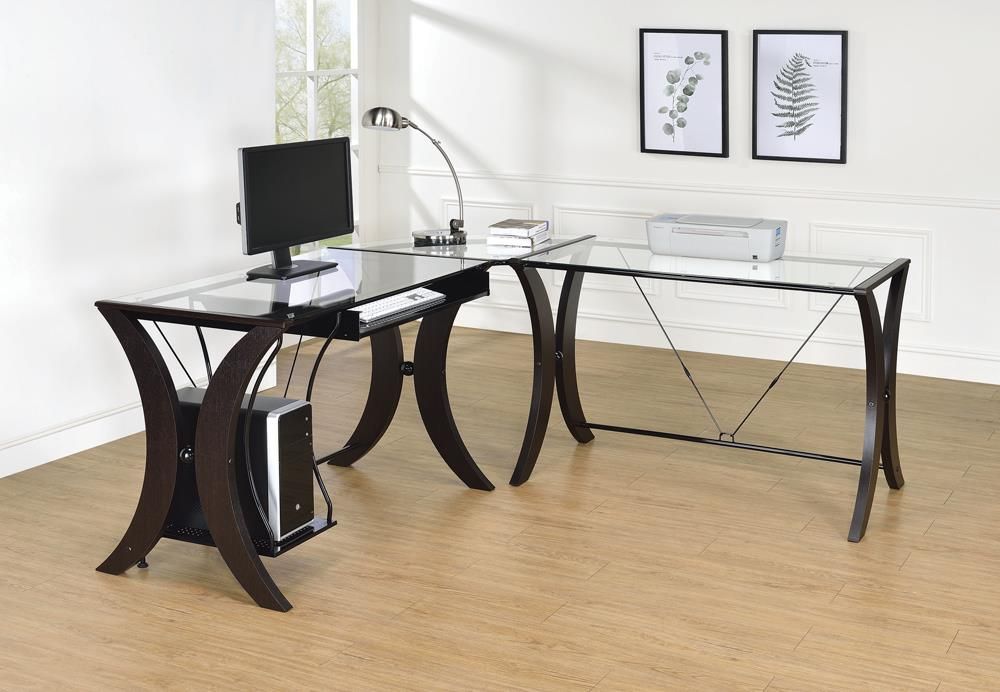 G800446 Contemporary Cappuccino Desk Set image