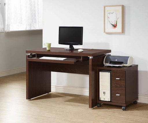 G800831 Contemporary Medium Oak Computer Desk image