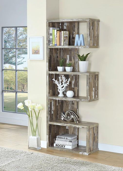 G800847 Rustic Salvaged Cabin Bookcase image