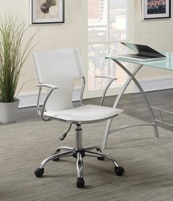 G801363 Contemporary White Office Chair image