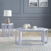 Reon Marble & Silver Coffee Table image
