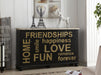 Arwin Antique Black & White Washed Console Table image