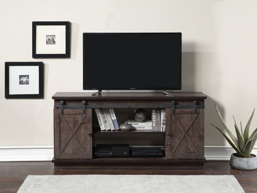 Rowan Oak TV Stand (Optional Fireplace) image