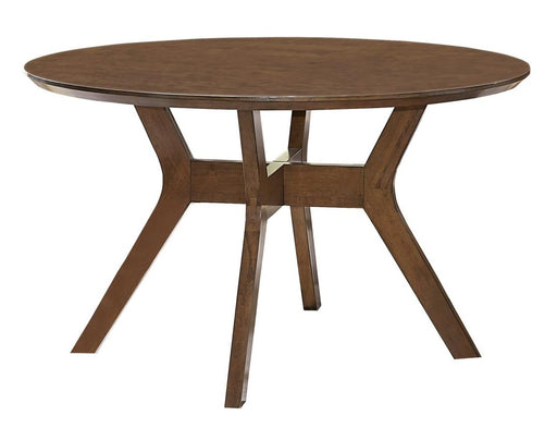 Homelegance Edam Round Dining Table in Light Oak 5492-52 image