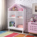 Doll Cottage White & Pink Bookcase image