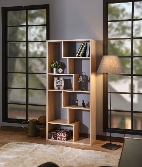 Mileta II Weathered Light Oak Bookshelf image