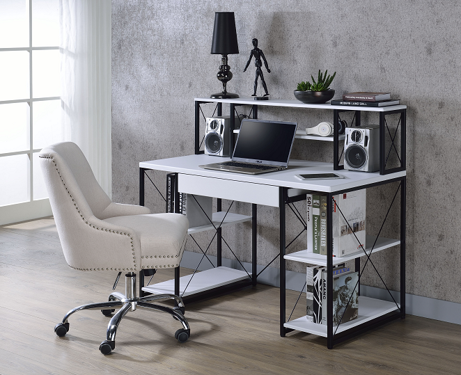 Amiel White & Black Desk image